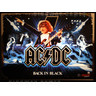 AC/DC Limited Edition (LE) Pinball Machine - Backglass