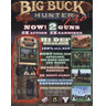 Big Buck Hunter Pro Arcade Machine - Brochure