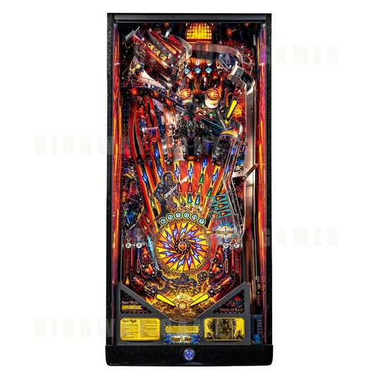 Black Knight: Sword of Rage Pinball Machine - Limited Edition Version - BKSOR Playfield