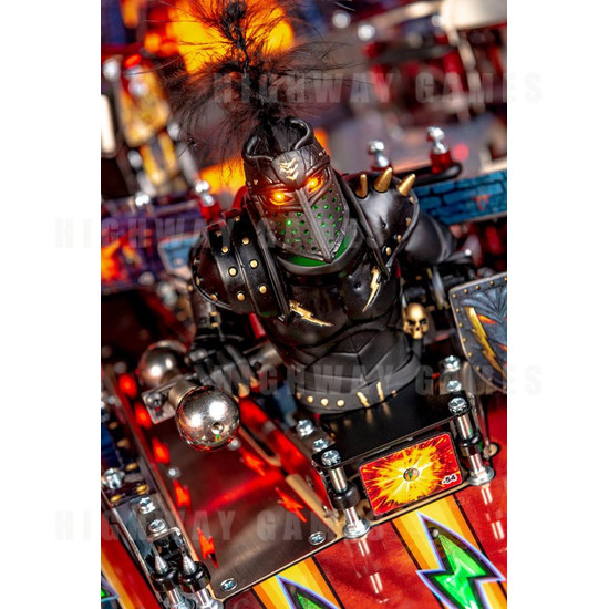 Black Knight: Sword of Rage Pinball Machine - Limited Edition Version - BKSOR Black Knight