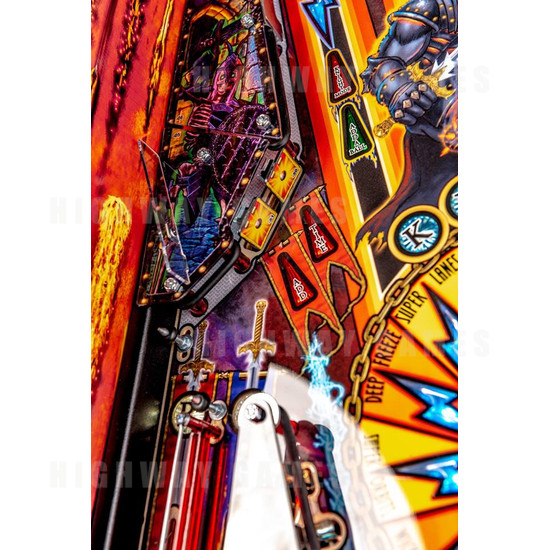 Black Knight: Sword of Rage Pinball Machine - Limited Edition Version - BKSOR Targets