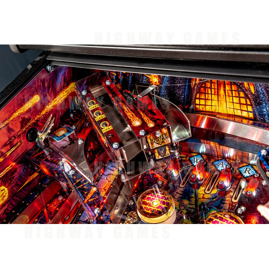 Black Knight: Sword of Rage Pinball Machine - Limited Edition Version - BKSOR Playfield Corner