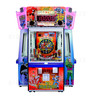 DC Superheroes 4 Player Ticket Pusher Machine - The Flash design