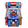 DC Superheroes 4 Player Ticket Pusher Machine - Superman design