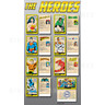 DC Superheroes 4 Player Ticket Pusher Machine - The Hero collectible cards