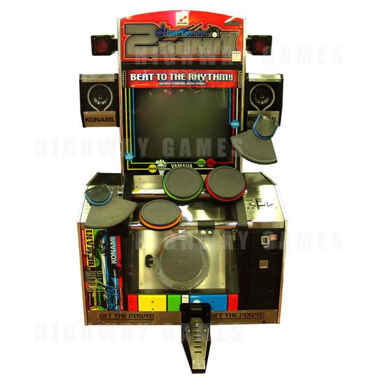 arcade machine front
