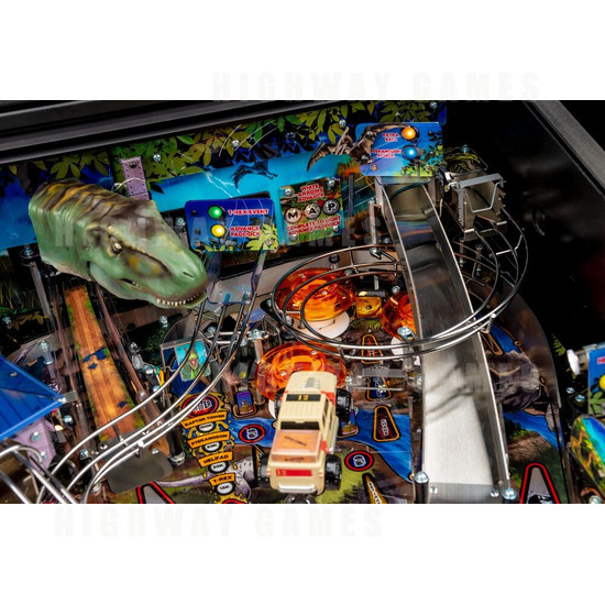 Jurassic Park Pinball Premium Edition (Stern) - Jurassic Park Premium Edition Top Right Playfield