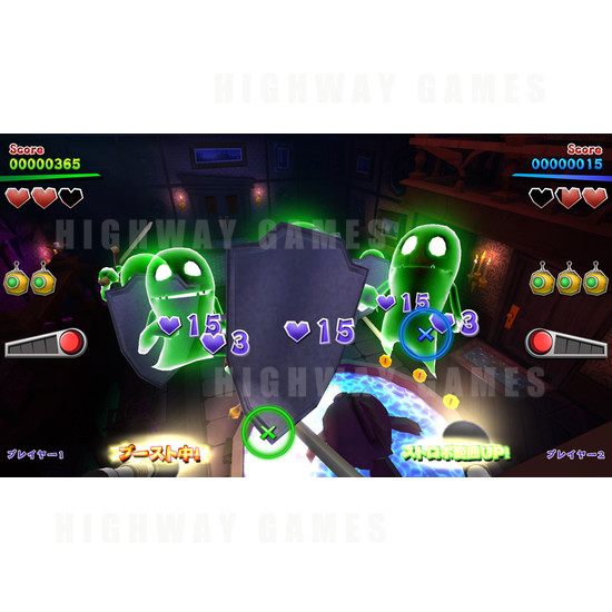 Luigi's Mansion Arcade Machine - Luigi Mansion Arcade Machine Screenshot