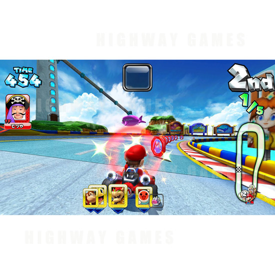 Mario Kart GP DX (3) Arcade Machine - Japanese Version - Screenshot