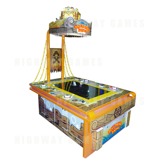 Mermaids Lagoon Ticket Redemption Arcade Machine - Full View