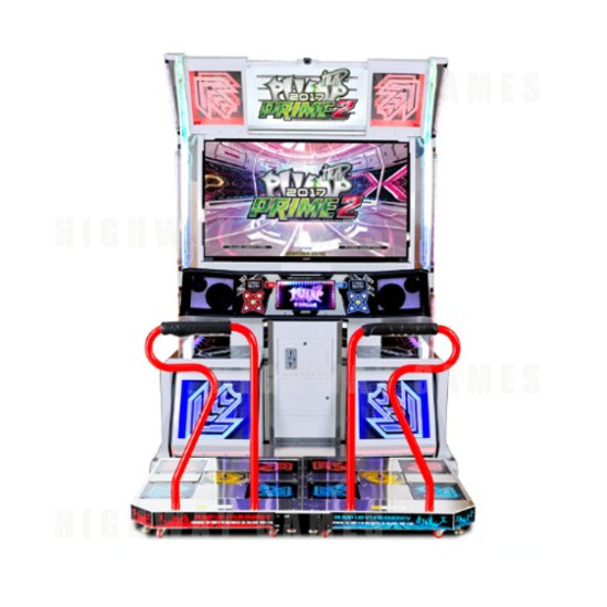 "Pump It Up PRIME 2 2017 LX 55"" Arcade Machine  - Pump it up Prime 2 2017 - Cabinet Front View"