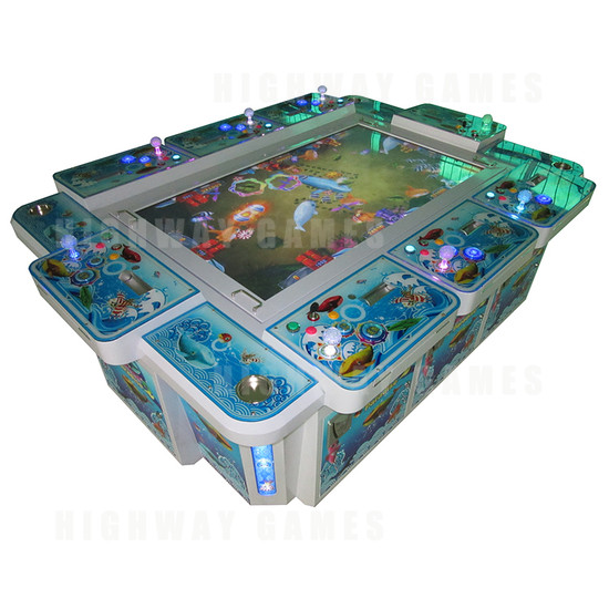Seafood Paradise 2 Plus 8 Player Arcade Machine - Seafood Paradise 2 Plus 8 Player Arcade Machine