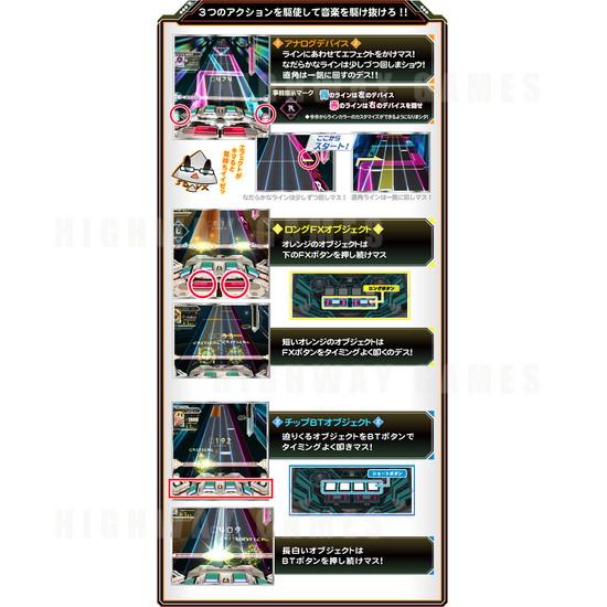 SOUND VOLTEX III Gravity Wars Arcade Machine - Sound Voltex