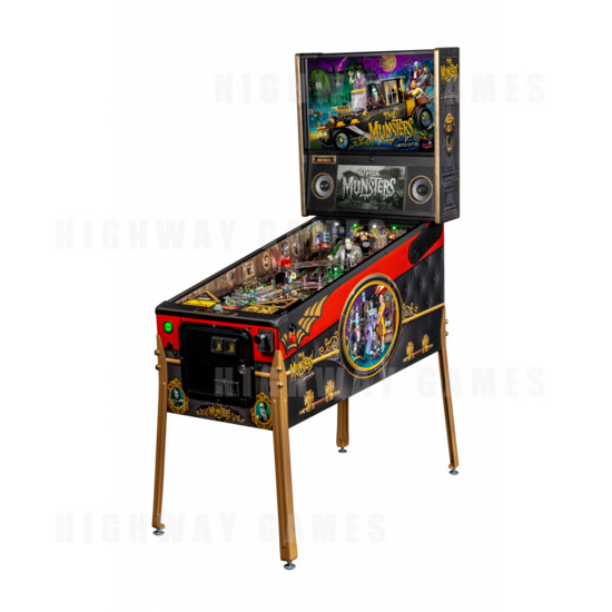 The Munsters Pinball Machine - Limited Edition - Stern's Munsters Limited Edition Cabinet