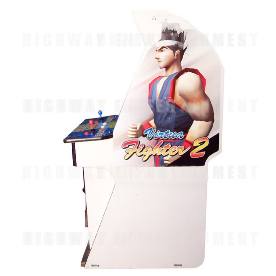 Virtua Fighter 2 - Right View