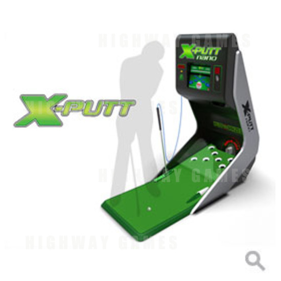 X Putt Nano Golf Redemption Game - X Putt Nano Golf Redemption Game