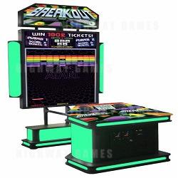 Coastal Amusements Reveal New Atari Breakout Arcade Machine