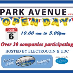 Heber to exhibit at the Park Avenue Open Day