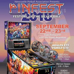 Newcastle Pinfest: new location, cabinets and guest speakers