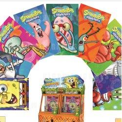 Andamiro's New SpongeBob Pineapple Arcade Cards are Floating into Arcade Stores