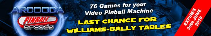 Arcooda Pinball Arcade Offer